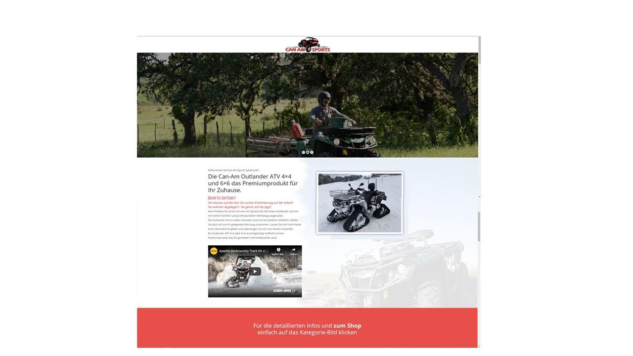 Can-Am Website
