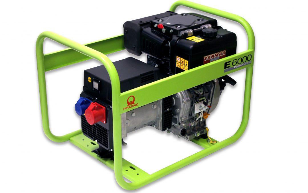 E6000 Diesel Pramac Stromerzeuger