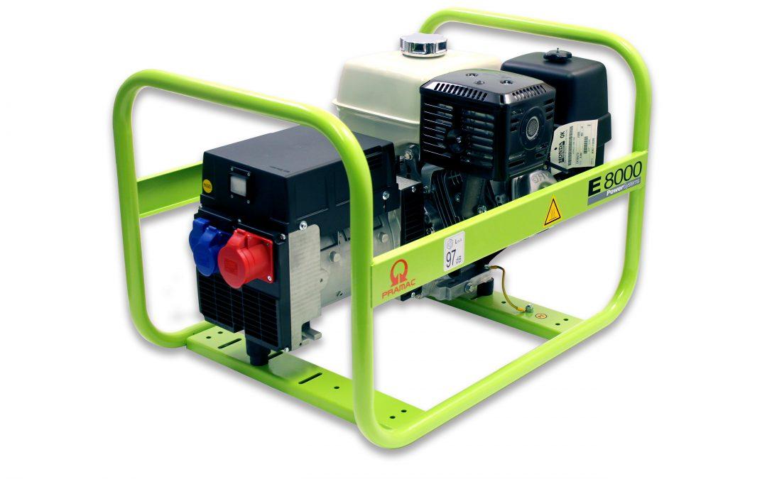 E8000 Benzin Pramac Stromerzeuger