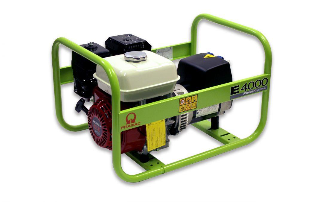 E4000 Benzin Pramac Stromerzeuger