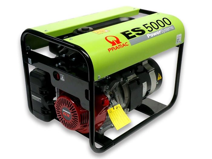 ES5000 Benzin Pramac Stromerzeuger