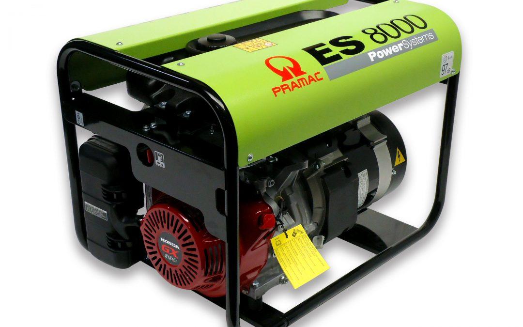 ES8000 Benzin Pramac Stromerzeuger