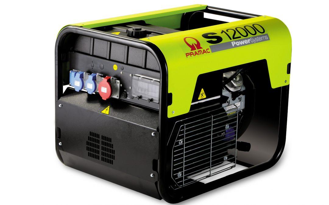 S12000 Benzin Pramac Stromerzeuger