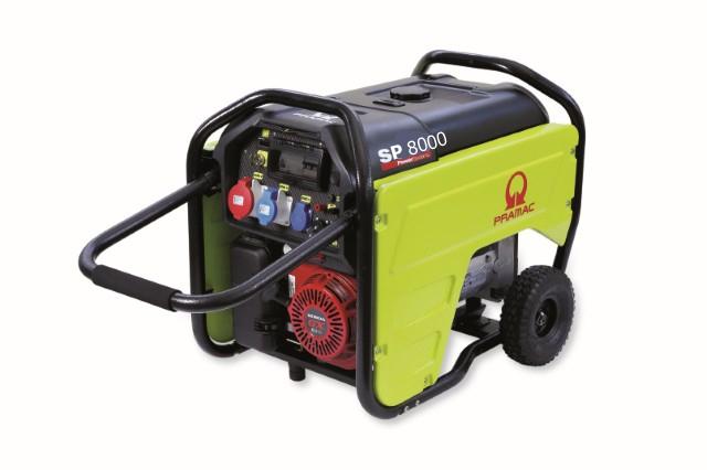 SP8000 Benzin Pramac Stromerzeuger
